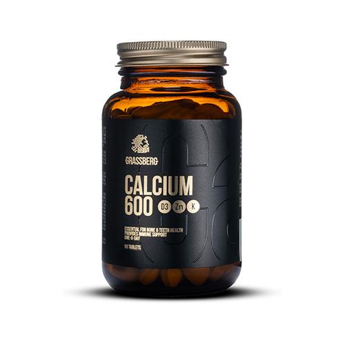 Calcium 600 D3+Zn+K (90 Tabs)
