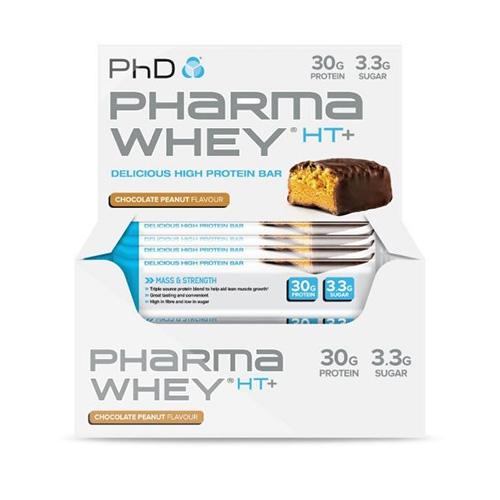Pharma Whey HT+ Bar (12x75g)