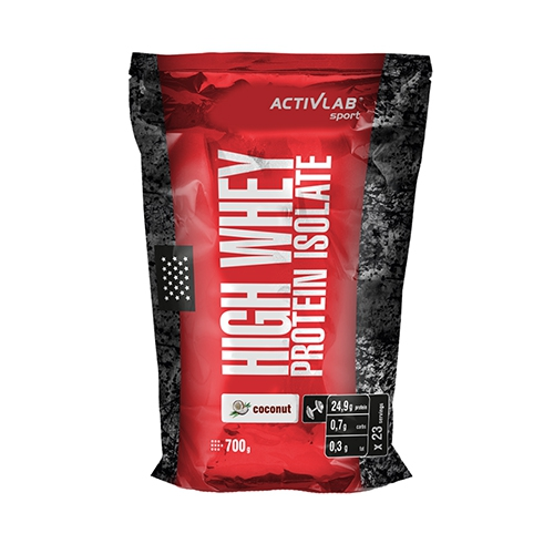 Activlab High Whey Protein Isolate (700g) Coconut