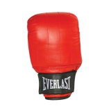 Leather Pro Bag Gloves Boston (Red)