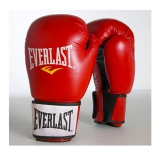 Moulded Foam Training Glove Leather (Red)