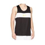 Mens Competition Contrast Panel Vest (Black/White)