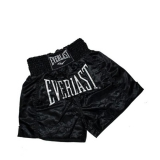 EM6 Mens Thai Boxing Short (Black)