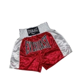 EM6 Mens Thai Boxing Short (Red/White)