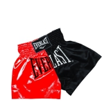 EM7 Mens Thai Boxing Short (Red/Black)