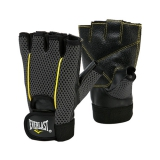 Weight Lifting Glove (Black/Yellow)