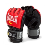MMA Pro Style Grappling Gloves (Red)