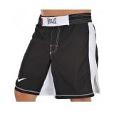 MMA8 Mens Mixed Martial Arts Shorts (Black/White)