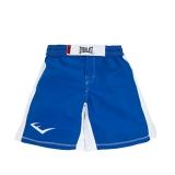 MMA8 Mens Mixed Martial Arts Shorts (Blue/White)