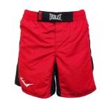 MMA8 Mens Mixed Martial Arts Shorts (Red/Black)
