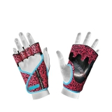 40936 Lady Motivation Gloves (Black/Pink/Turquoise)