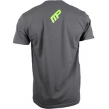 Musclepharm Sportswear Mens Performance T-shirt Grey Marl (MPTS522) (discontinued)