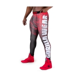 Bruce Tights (Black/Red)