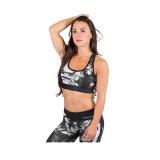 Gorilla Wear - Phoenix Sports Bra (Black/White)