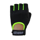 40517 Summertime Gloves (Black/Neon yellow)