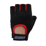 40517 Summertime Gloves (Black/Red)