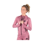 Gorilla Wear - Womens Shawnee Zipped Hoodie Mixed Red