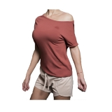 Drop Shoulder Tee (Light Terra Rose)