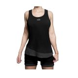 Aurora Double Tanktop (Black)