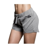 Overlap Short (Light Gray Melange)