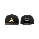 Peak Sportswear - Snapback Cap (Black/Gold)