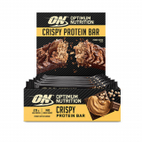 Optimum Nutrition - Protein Crisp Bar (10x65g)