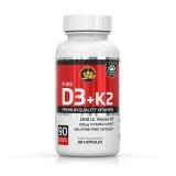 Vitamin D3+K2 (90 caps)