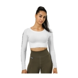 Bowery Cropped LS (White)