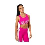 Bowery Sports Bra (Hot Pink)