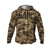 L/S Thermal Hoodie (Green Camo)