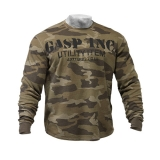 Thermal Gym Sweater (Green Camo)