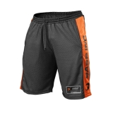 No1 Mesh Shorts (Black/Flame)