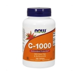 Now Foods - Vitamin C-1000 with Rose Hips & Bioflavonoids (100 Tabs)