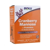 Now Foods - Cranberry Mannose + Probiotics (24x6g)